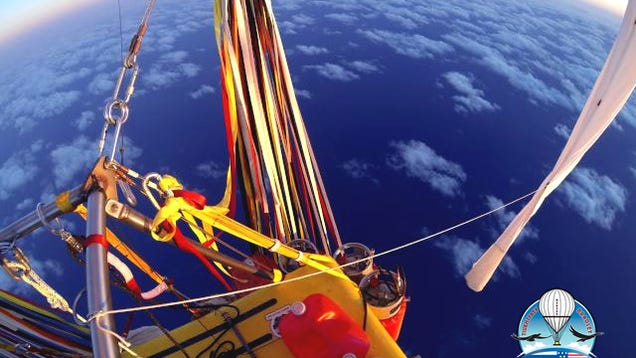 These Balloonists Just Broke A Decades-Old Distance Record