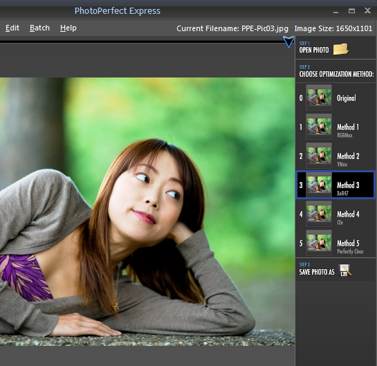 PhotoPerfect Tweaks Your Pictures with Presets