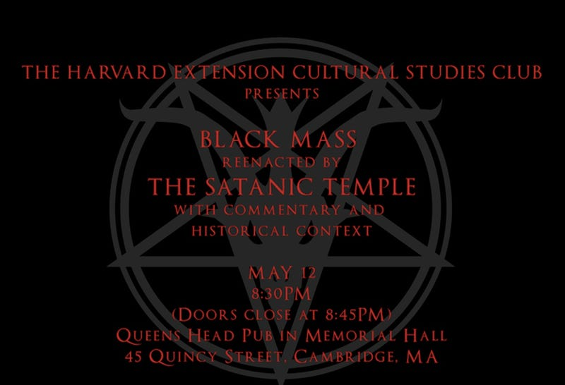 Harvard Plans to Hail Satan, Confirms Conservative Fears About Harvard