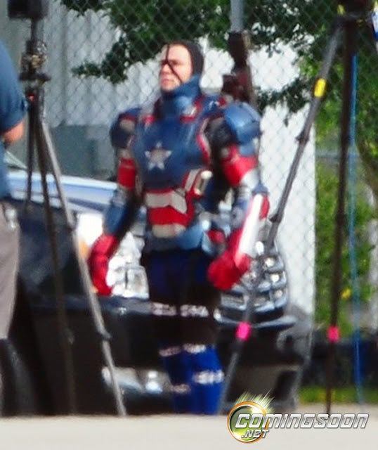 Iron Man 3 Set Photos Gallery