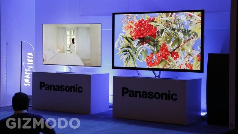 Panasonic's Big Beautiful New Plasma and LED TVs Are Here