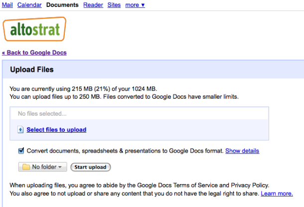 Google Docs Gets File Storage: Is This the GDrive?