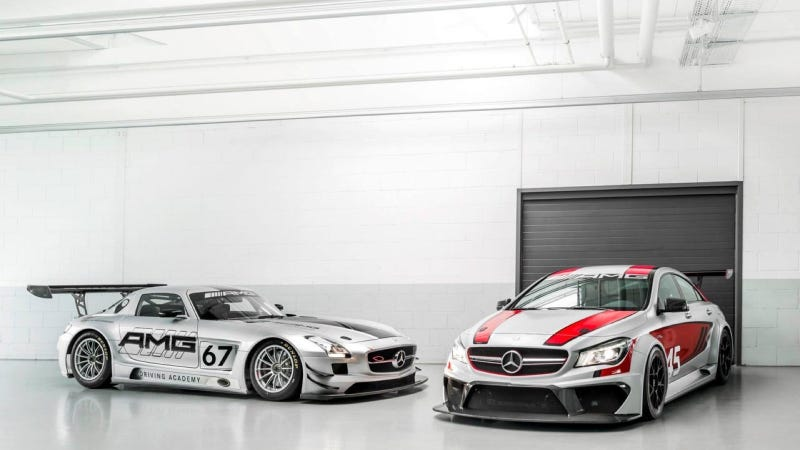 The Mercedes CLA45 AMG Becomes A Titilating Race Car