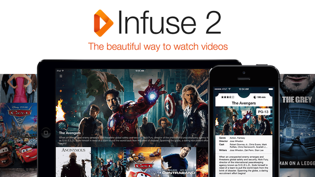Infuse Updates, Plays Video from Your Home Network, Even Offline