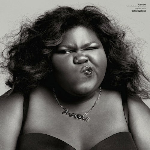 "V Magazine Gives Gabourey Sidibe ""Big Love"""