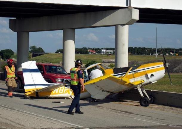 Watch A Pilot Make An Emergency Landing In Texas