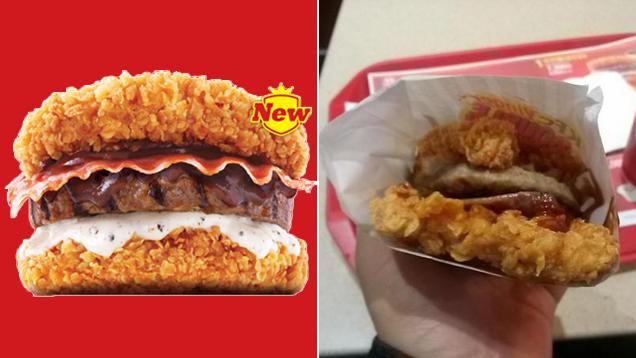 A Good, Horrible Look at Korea KFC's Double Down