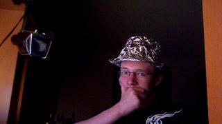 Here is a tinfoil fedora