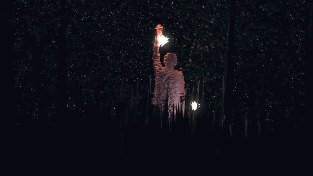 Artwork Made With Kinect Puts You Inside A Magical Forest