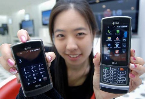 LG's Glimmer Phone Has Touchscreen + Keypad, Heading to Alltel