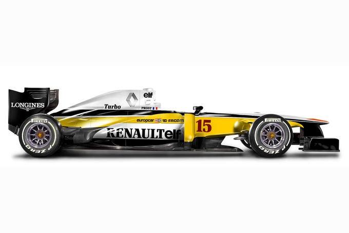 Retro F1 liveries by Camille de Bastiani