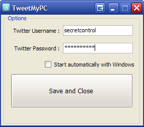 TweetMyPC Uses Twitter to Remote Control Your PC