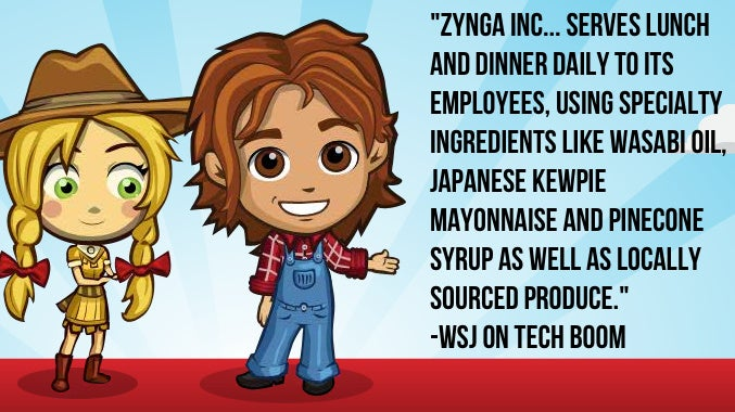 Zynga Serves Pinecone Syrup, Japanese Mayonaise for Office Lunches
