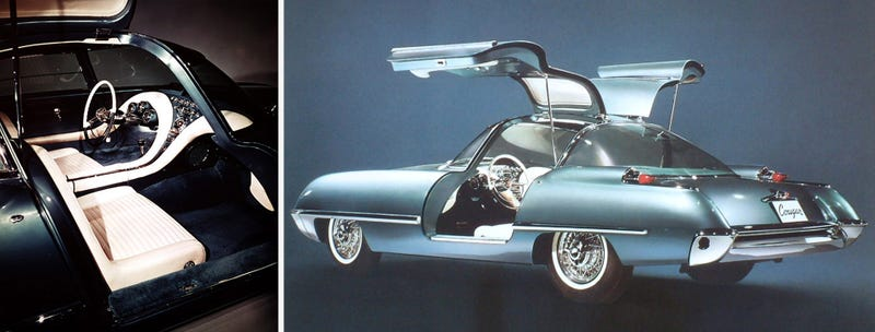 Ford Built A Gullwing Sports Car In 1962