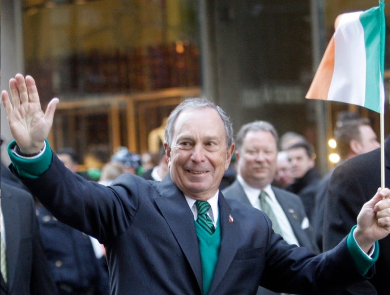 Mike Bloomberg Knows a Good One About the Irish
