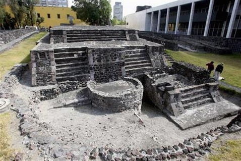 Giant 800-Year-Old Pyramid Discovered Under Mexico City