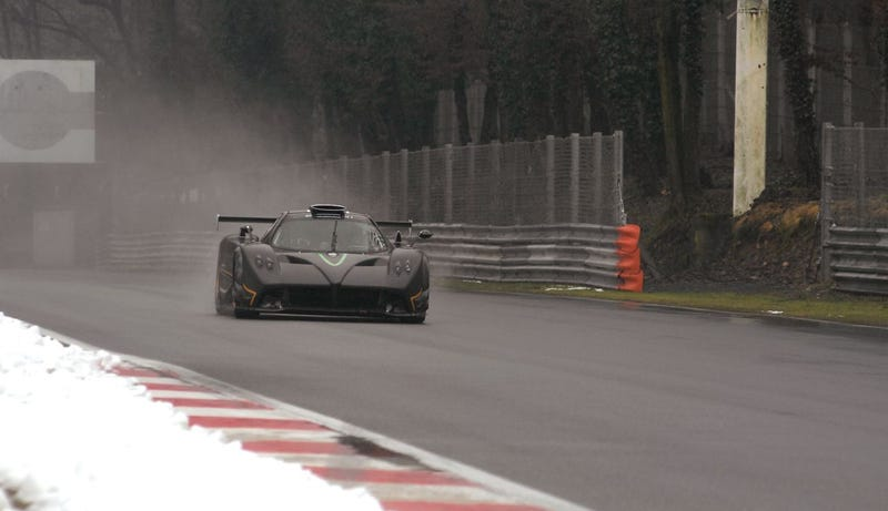 Pagani Zonda R Monza: We Love A Good On-Track Gallery