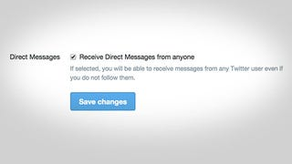 Twitter Now Allows You to Receive Direct Messages from Anyone