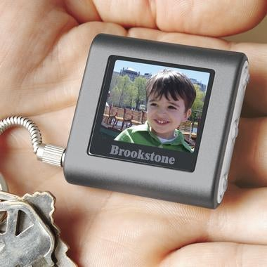 Brookstone Digital Photo Keychain: 56 Pics, 50 Bucks