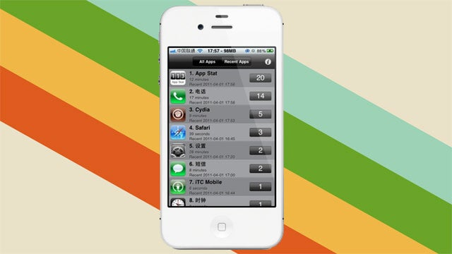 App Stat Tallies Which Apps You Use, Helps You Clear Out Your iPhone