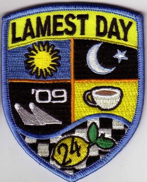 Event Patches Of The 2009 LeMons Season