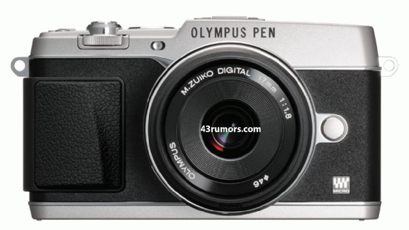 Rumored First Picture of Olympus E-P5 Continues Vintage Design Trend