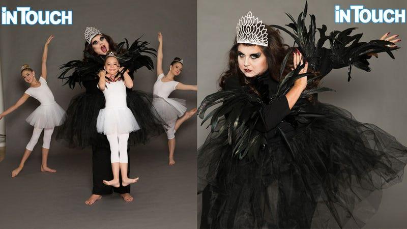 'Dance Moms' Star Abby Lee Miller Dresses as 'Black Swan' for Conceptual Tabloid Shoot