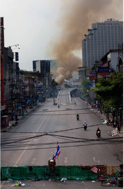 Thai Protesters Live the Recession Dream