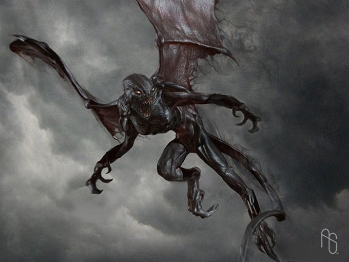 Ogle A Sexy Medusa From Clash Of The Titans Concept Art