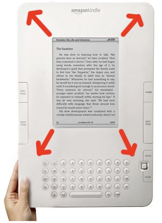 Rumor: Kindle Screen Gonna Be Larger By Christmas