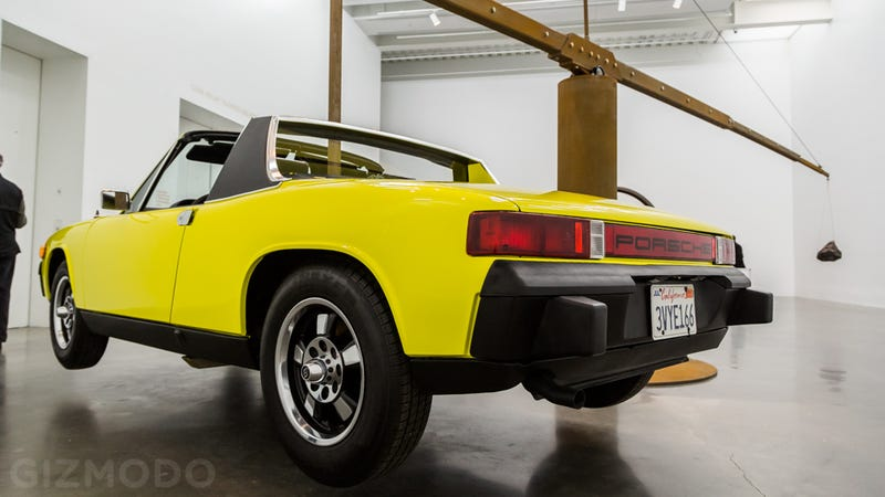How a Porsche, a Meteorite, and $4 Million in Gold Ended Up In a Museum