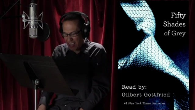 Gilbert Gottfried's Greatest Voice Acting Role to Date: Narrating Fifty Shades of Grey