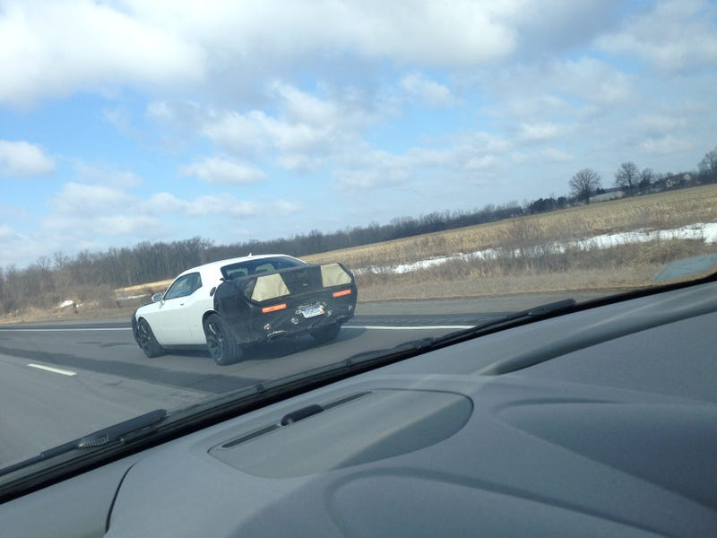 2015 Dodge Challenger Spotted in Camouflage