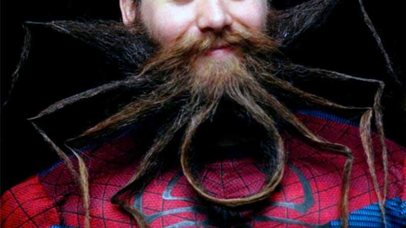 Behold the majesty of the Amazing Spider-Beard