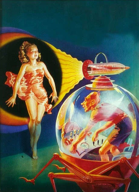 The Most Beautiful Pulp Magazine Cover Art We've Ever Seen