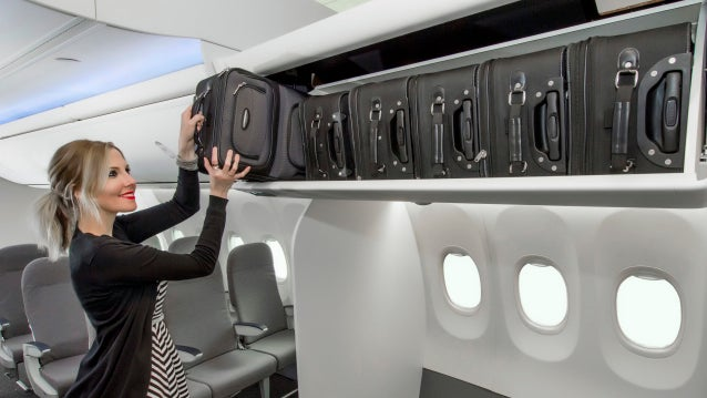 Boeing's 'Space Bins' Designed To Fit Everyone's Annoying Carry-Ons