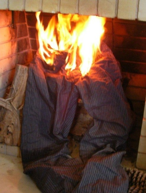 Policeman Tases Guy, Sets His Pants on Fire
