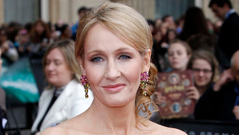 JK Rowling Has Been Pretending To Be A Married Ex-Military Father