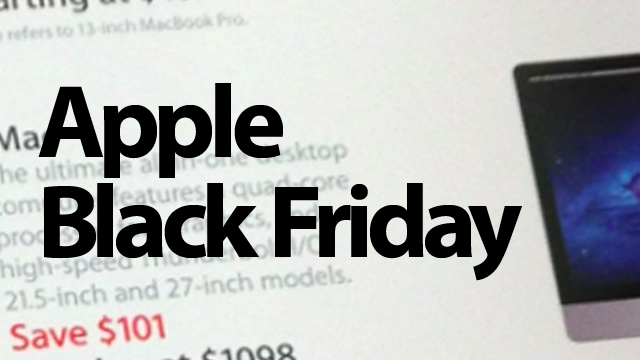 Apple's Black Friday Deals Are Actually Pretty Decent This Year