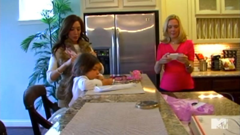 Is Farrah Abraham Living in a Model Home for MTV's Teen Mom Special?
