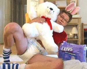 Sorry, Charlie: Al Franken In A Diaper Cannot Alter The Fabric Of Reality