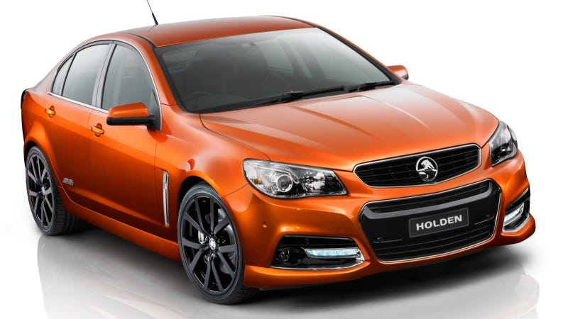 The Holden Commodore SS V Is The Next Chevrolet SS