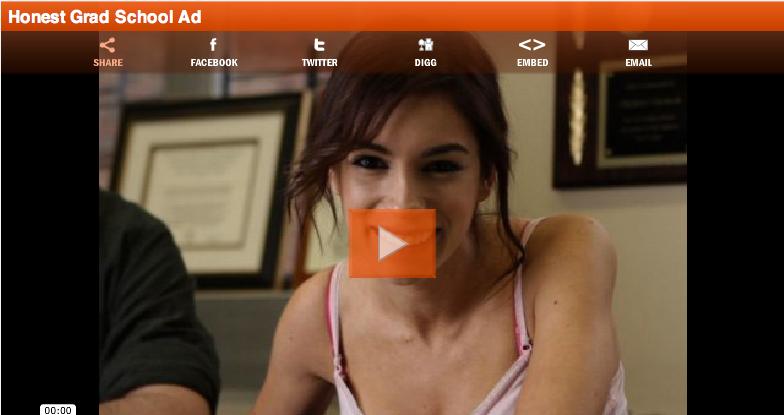This Week's Top Web Comedy Video: Honest Grad School Ad