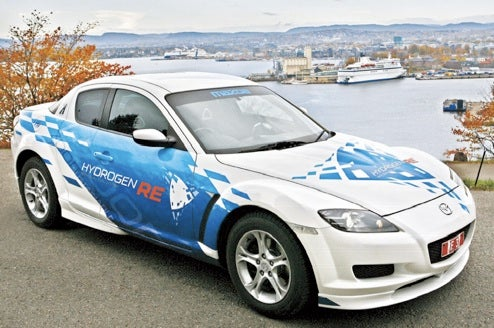 Green Wankel: Hydrogen-Powered Mazda RX-8 Hits Norway