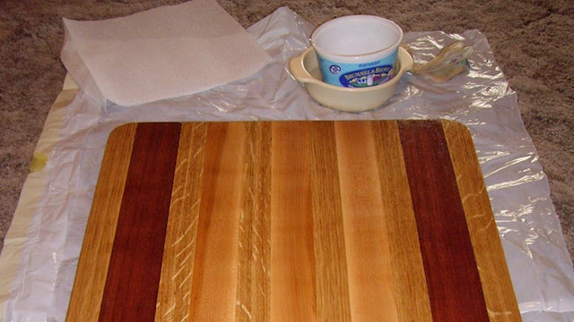 Maintain a Wood Cutting Board with 5 Minutes of Work a Month