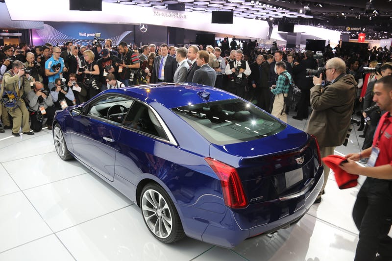 Cadillac Might Build An ATS-V Coupe And It Won't Be Cheap