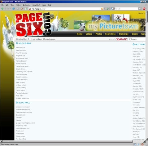 PageSix.com Launch Brings Us One Exciting Step Closer To Judgment Day