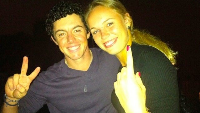 Caroline Wozniacki And Rory McIlroy Obnoxiously Remind Us That They Are Nos. 1 And 2 In The World