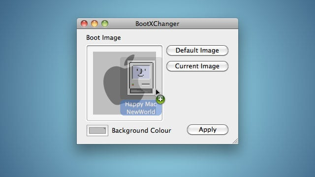BootXChanger Customizes Your Mac OS X Boot Screen