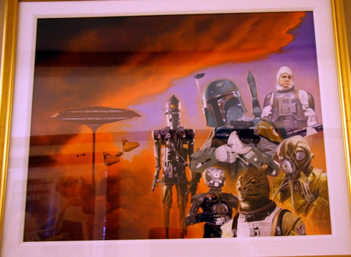 The Cheesy Art of Skywalker Ranch